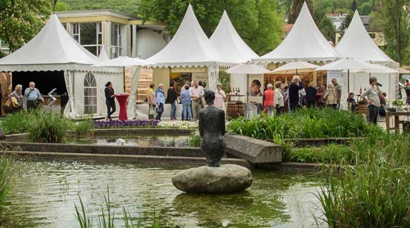Koechemarkt im Kurpark von Bad Neuenahr
