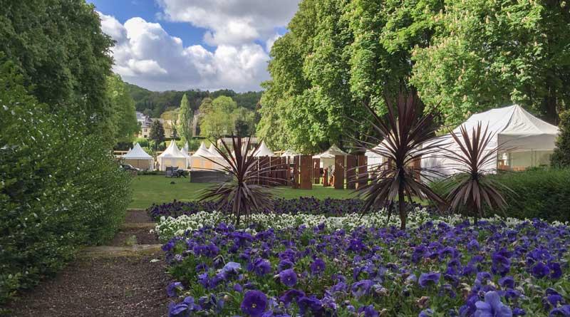 Lebensart Messe, Handwerk, Kunst und Gartenmesse im Kurpark von Bad Neuenahr