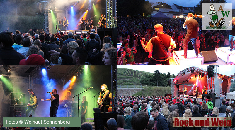 Rock und Wein, die After Show Party nach Ahrathon