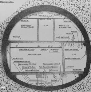 Dokumentationsstätte Regierungsbunker im Ahrtal oberhalb von Ahrweler