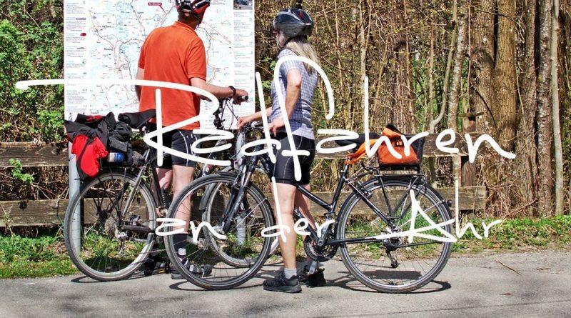 Radfahren an der Ahr im Ahrtal