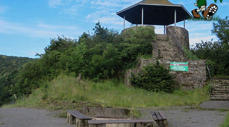 Bunte Kuh Aussichtspunkt im Ahrtal bei Walporzheim