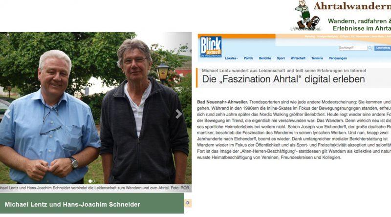 Ahrtalwandern im Gespräch im Blick aktuell Heimatzeitung für das Ahrtal