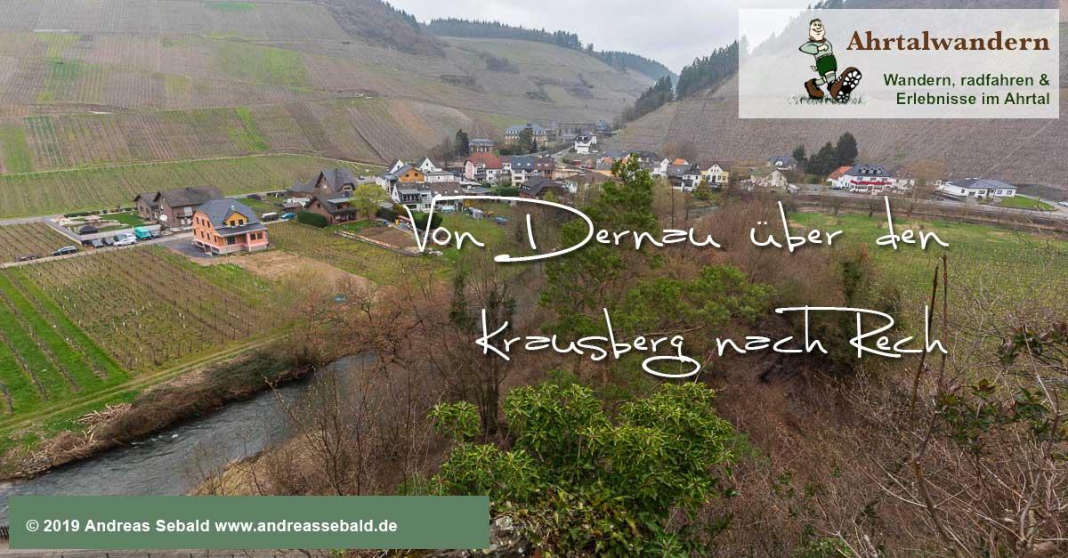 Von Dernau über den Krausberg nach Rech