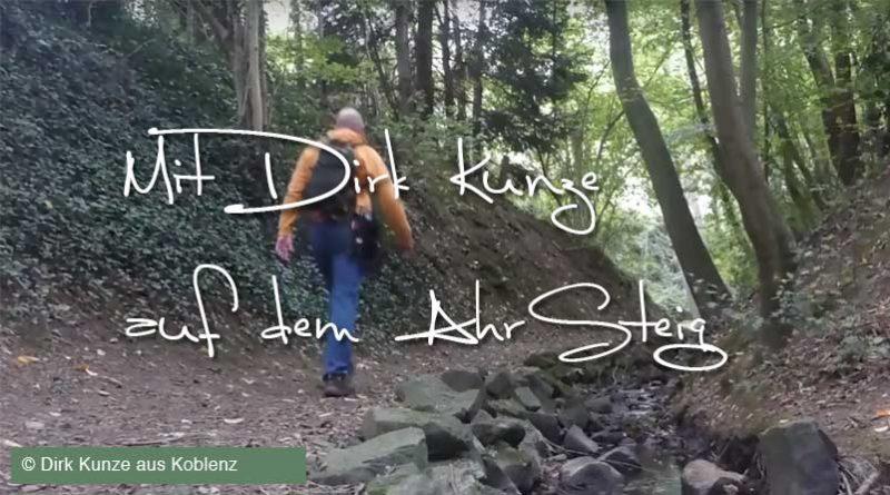 Mit Wanderblogger Dirk Kunze unterwegs auf dem Ahrsteig an der Ahr