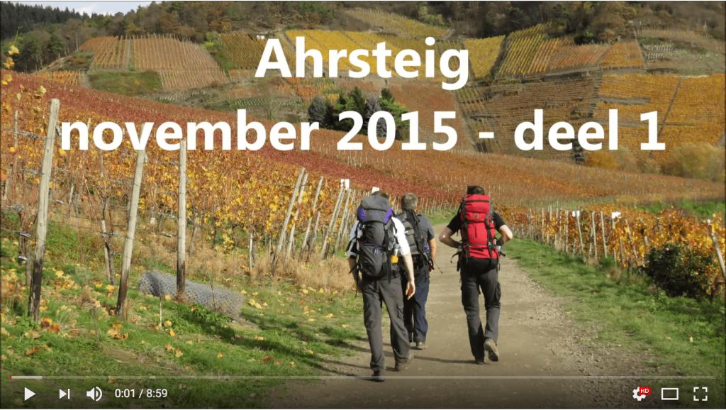 AhrSteig Video Teil 1 vom Joost Ahrtalwandern