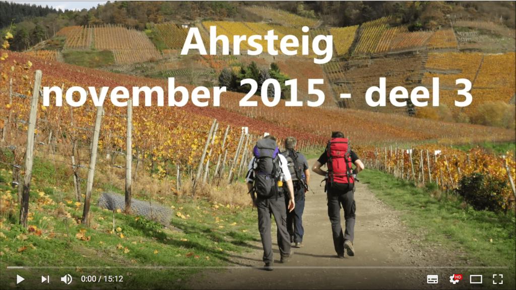 AhrSteig Video Teil 3 vom Joost Ahrtalwandern