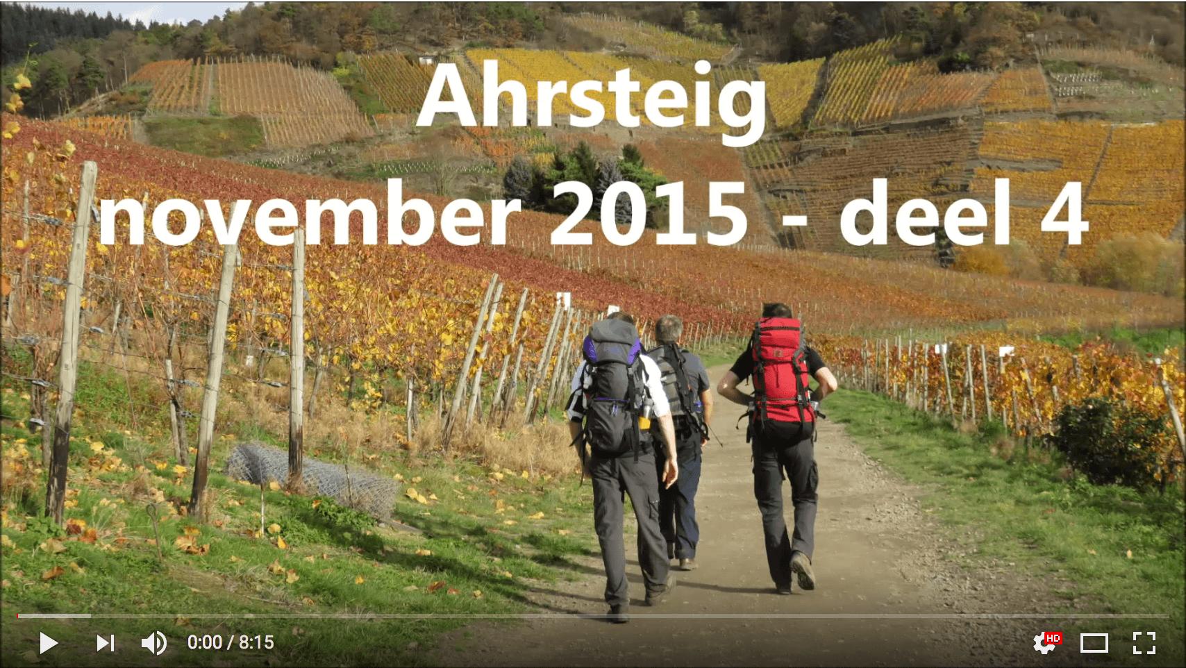 AhrSteig Video Teil 4 vom Joost Ahrtalwandern